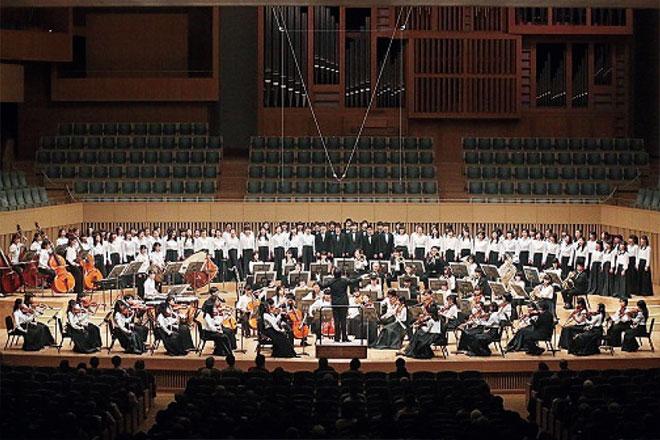卒業演奏会の様子の画像