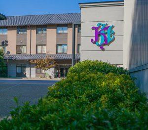 京都堀川音楽高校校舎イメージ(正門より)の画像