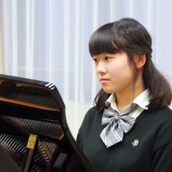 菊池 華 3年 ピアノ専攻