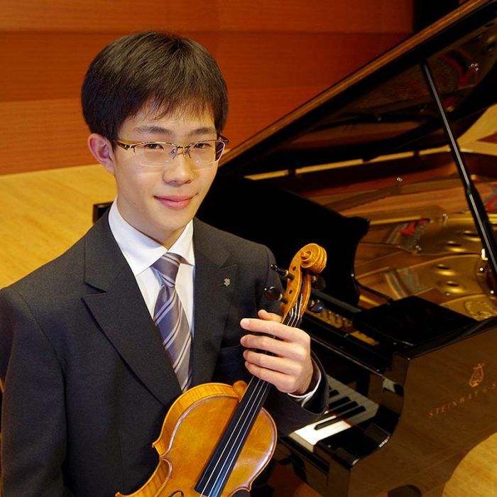 土橋 昂樹 2年 ヴァイオリン専攻