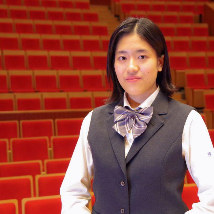 砂田 萌 3年 声楽専攻
